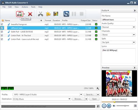 download converter mp3 to m4a how to convert m4a to mp3 with xilisoft audio converter
