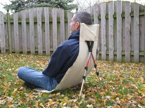 ultralight cing chair i use my jerry chair foam pad for my backpacks back