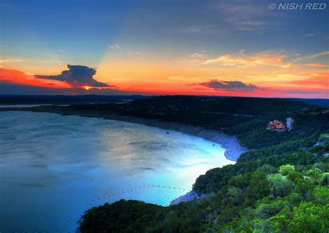 Lake Travis In Lake Travis Near Tx Nature Gods Beautiful