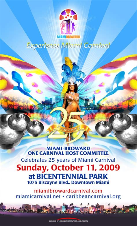 Home Design Online by Miami Carnival Poster Am Creative Group