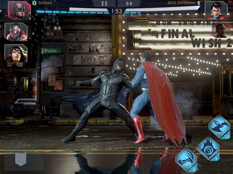 Ps4 Injustice 2 New injustice 2 mobile now available days before the ps4 xbox one gamespot
