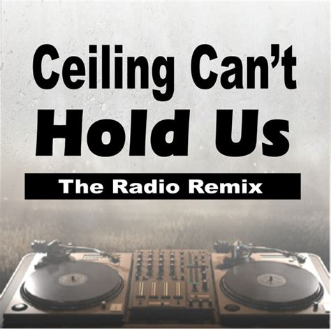 Ceiling Cant Hold Us Song by Ceiling Can T Hold Us The Radio Remix Single