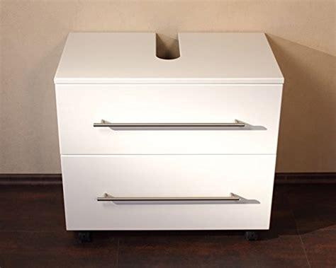 meuble sous vasque 70 cm avec blanc laqu 233