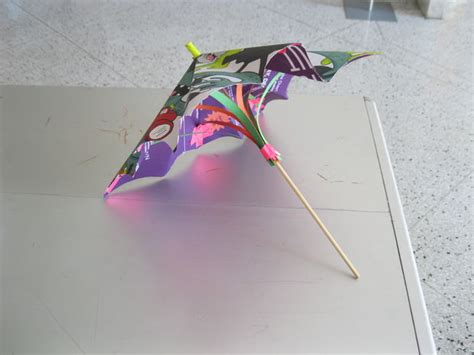 How To Make Paper Umbrella - how to make small umbrella with paper roselawnlutheran