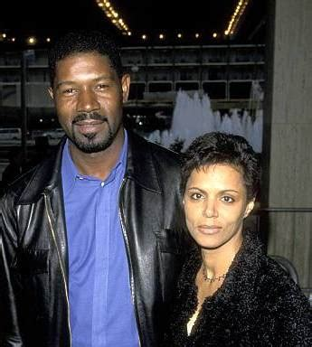 dennis haysbert lynn griffith welcome to the private family of american actor dennis