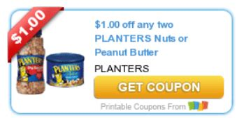 Planters Printable Coupons by A Thrifty Best Gift Guide Diy Recipes