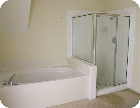 how to change a bathtub to a shower the master bath remodel project inside nanabread s head