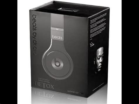 Beats Pro Detox Edition Unboxing by Unboxing Beats By Dre Pro Detox Version 2013