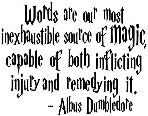 Hogwarts Wall Mural harry potter magic albus dumbledore quote truck car window