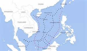 South China Sea Dispute Map by South China Sea The Territorial Disputes Explained