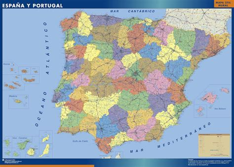 map of spain provinces our provinces of spain maps wall maps mapmakers offers