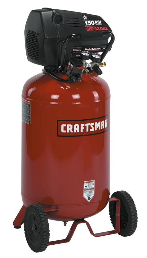 craftsman 16732 2 hp vertical portable tank air compressor 33 gal sears outlet
