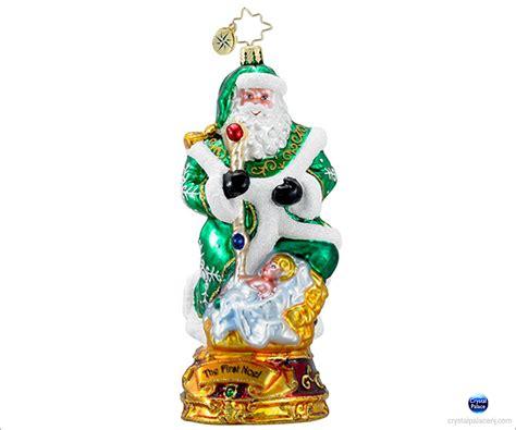 christopher radko the first noel christmas ornament