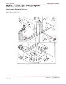 mercruiser 3 0 alternator wiring diagram efcaviation
