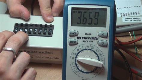 resistor decade box diy diy decade resistance box