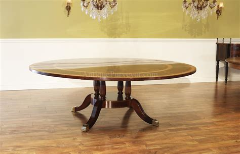 Large Dining Room Table With Leaves Large Formal Traditional Mahogany Dining Table W Leaves