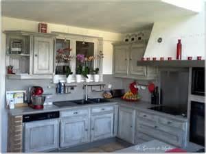 relooking d une cuisine rustique patine esprit indus