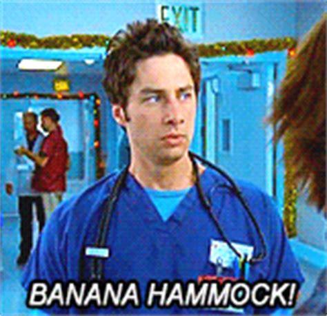 Banana Hammock Meme - my gif gif zach braff scrubs scrubs gif john dorian