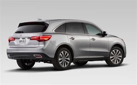 Acura Mdz 2014 Acura Mdx Rear Photo 1