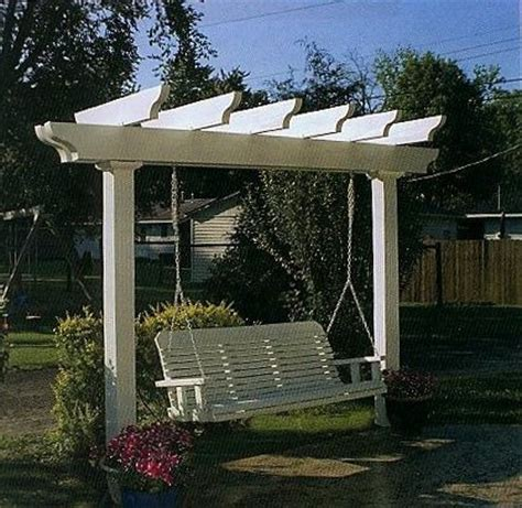 pergola porch swing arbor swing set arbor decal galleries