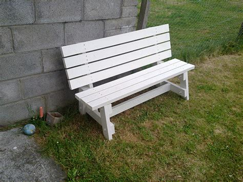 build a bench seat for garden simple garden bench seat made by eoin
