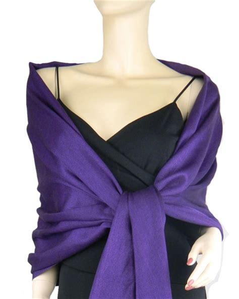 Pashmina Satin Silk 2 pashmina silk shawl purple
