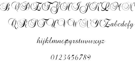 40 free cool cursive tattoo fonts hative