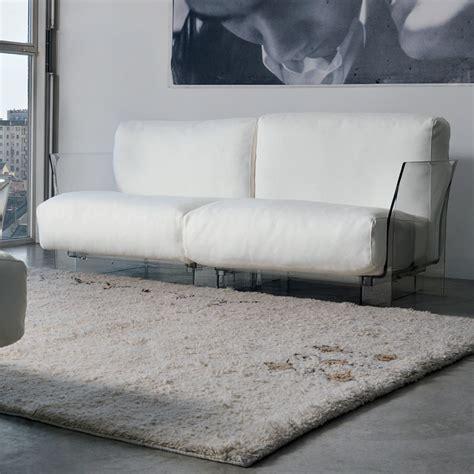 pop sofa divano di design kartell 2 posti con