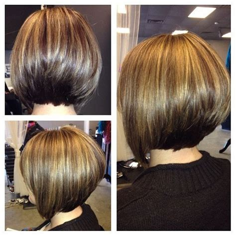 back side bob cut short angled bob hairstyles back view 55 with short angled