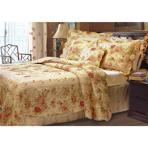 greenland home bedding greenland home fashions 174 quot antique rose quot bedding set