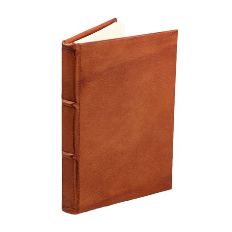 Handmade Italian Leather Journals - colorful handmade italian leather journal espresso