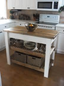 Small Kitchen Butcher Block Island by Home Frosting Kitchen Island