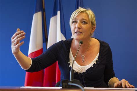 marine le pen marine le pen france s far right extremist front national