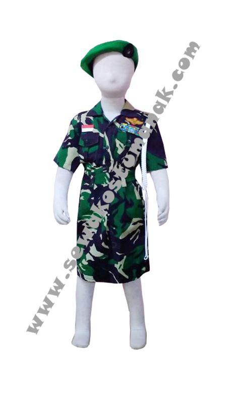 Baju Tentara Anak kostum pejuang kostum pahlawan sewa kostum anak