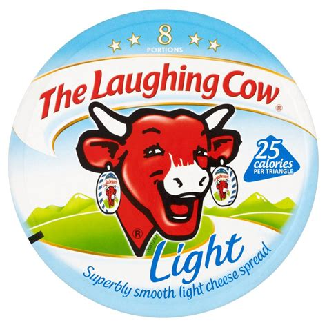 laughing cow light cheese the laughing cow light cheese spread 8 portions 140g
