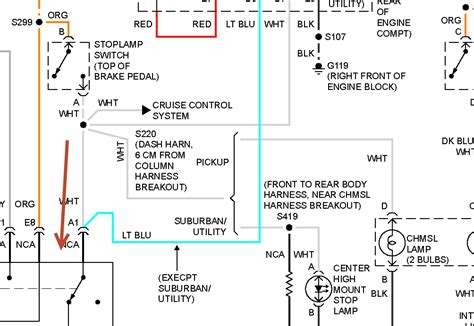 Can You Show Me Brake Light Wiring Harness Diagram For A