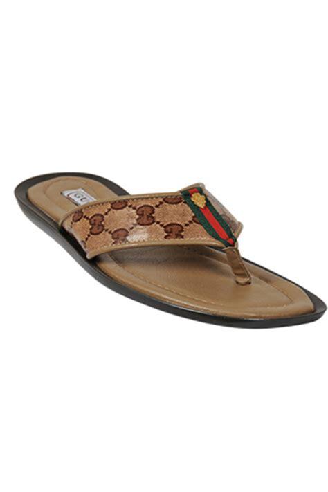gucci sandals mens designer clothes shoes gucci s leather sandals 258