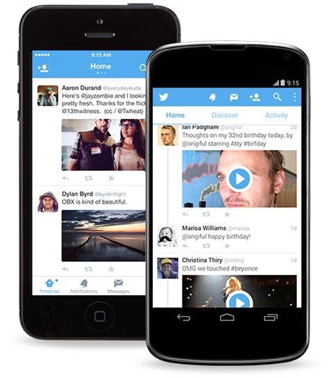 twitter layout android twitter 5 0 update brings refreshed user interface