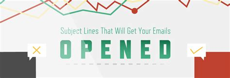 20 email subject lines that will get opened every time infographic subject lines that will get your emails