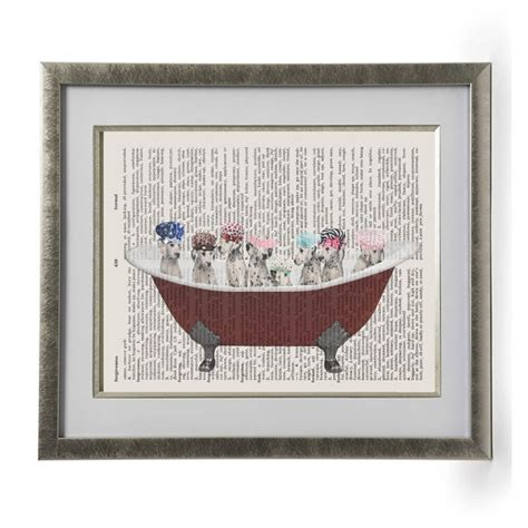 Dogs In A Bathtub Dictionary by 101 Dalmatians Puppie Dogs Bath Time Dictionary