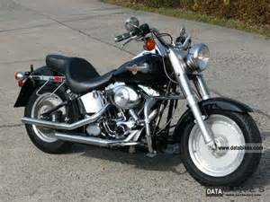 2001 harley davidson flstf fat boy black