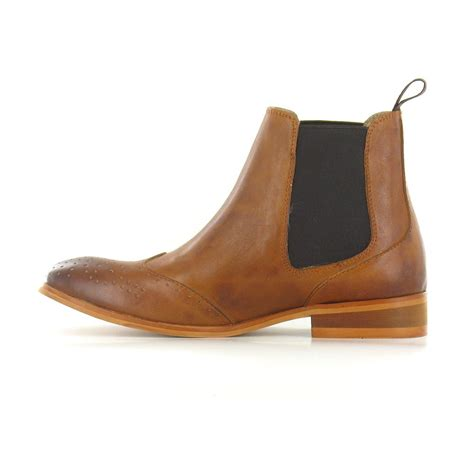 laceys odele womens leather chelsea boots in