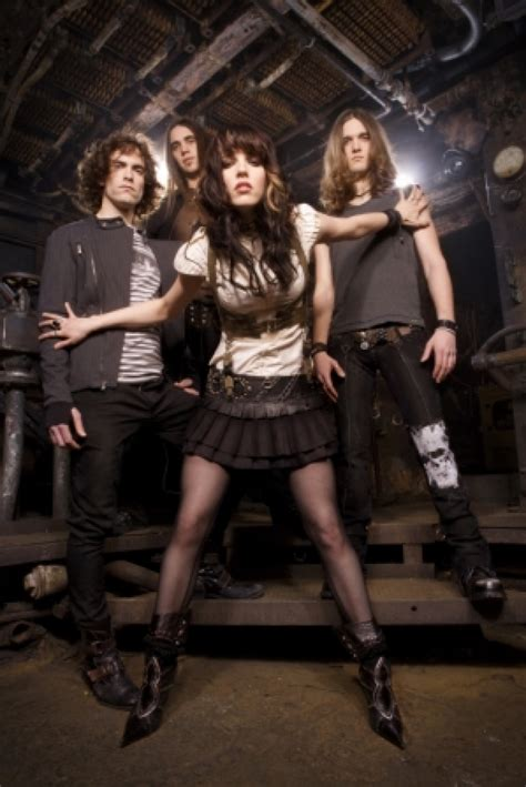 Or With Hale Halestorm S Lzzy Hale Is With All The Stares