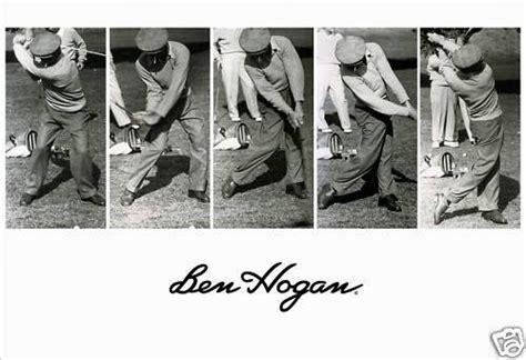hogan swing sequence ben hogan driver swing