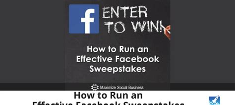 How To Run A Sweepstakes On Facebook - contests on facebook archives tabsite blog