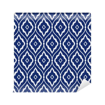 persian pattern png seamless indigo blue and white vintage persian ikat