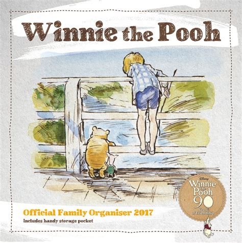 2018 winnie the pooh wall calendar day winnie the pooh organiser calendars 2018 on europosters