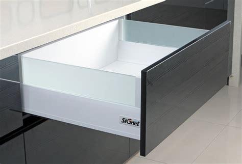 Glass Drawers by Tandem Platinum Glass Drawer Modern Kitchen Modular