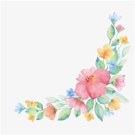 cenefa de flores decoracion floral flores cenefa decorativa flores png