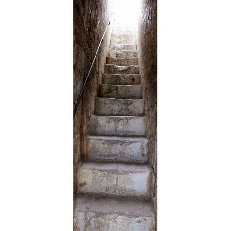 sticker de porte mont 233 e d escalier en